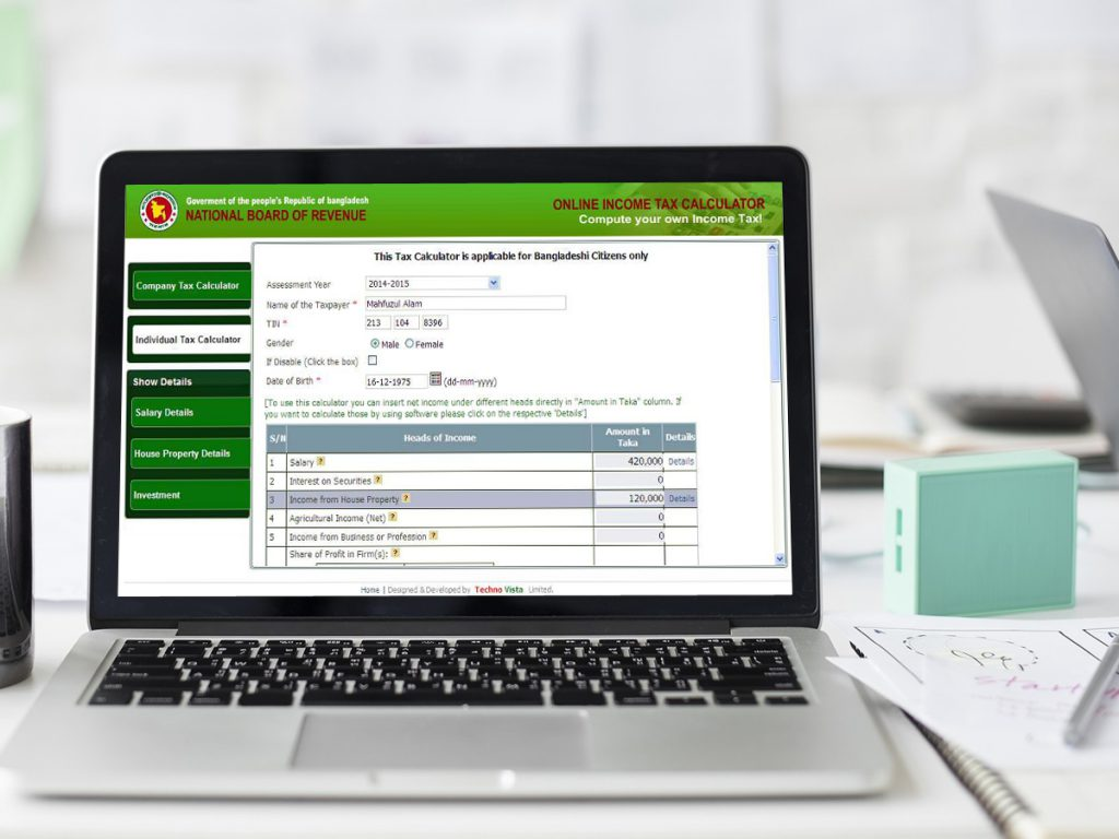 Income Tax Calculator & Return Preparation System