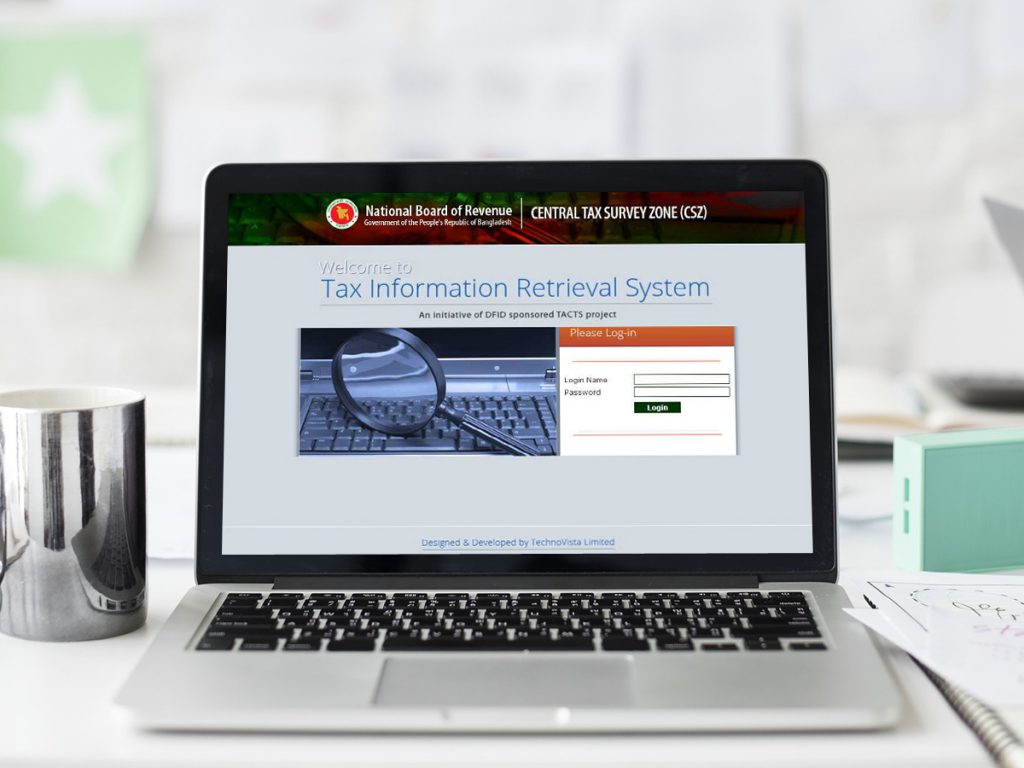 Tax Information Retrieval System