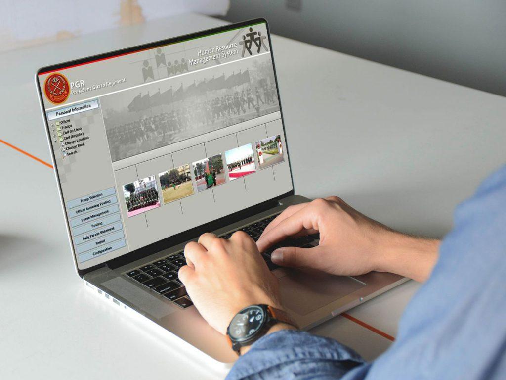 Management Information System of President Guard Regiment