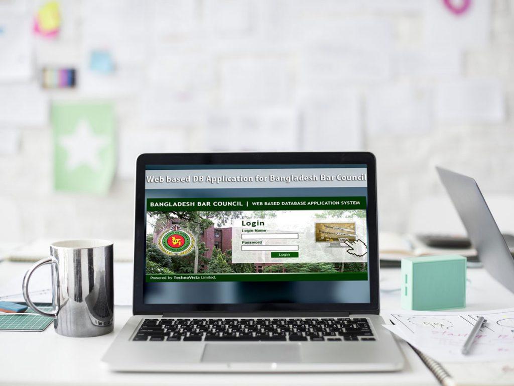 Web based database Application System for Bangladesh Bar Council