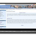 Development of Website for Department of Fisheries : developed by TechnoVista Limited - Screenshot