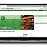 Library Management System for Bangladesh Army : developed by TechnoVista Limited - Screenshot