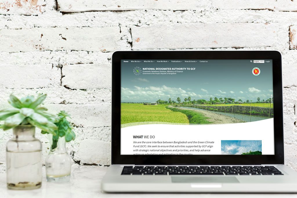 Web Portal for National Designated Authority Designed & Developed by TechnoVista Limited